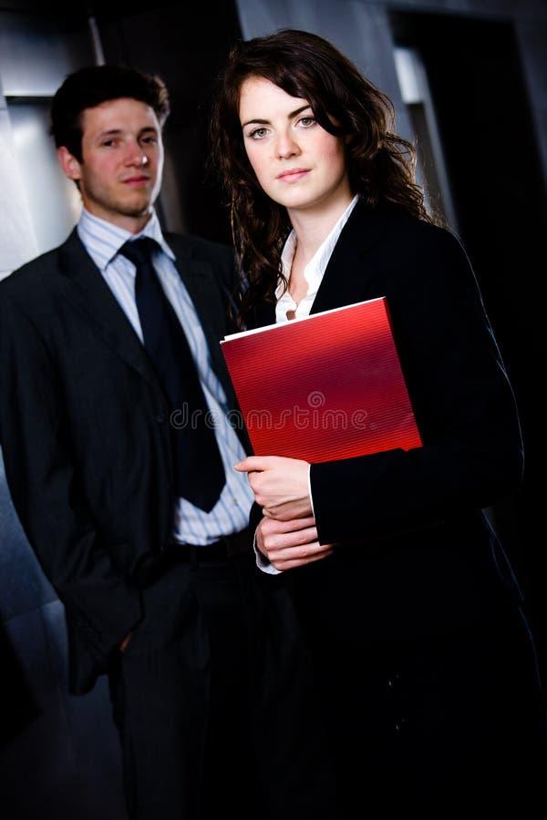 Wirtschaftler - Unternehmensportrait stockfotos