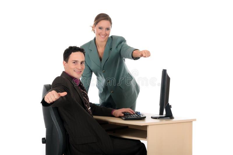 Wirtschaftlerbüro stockbilder
