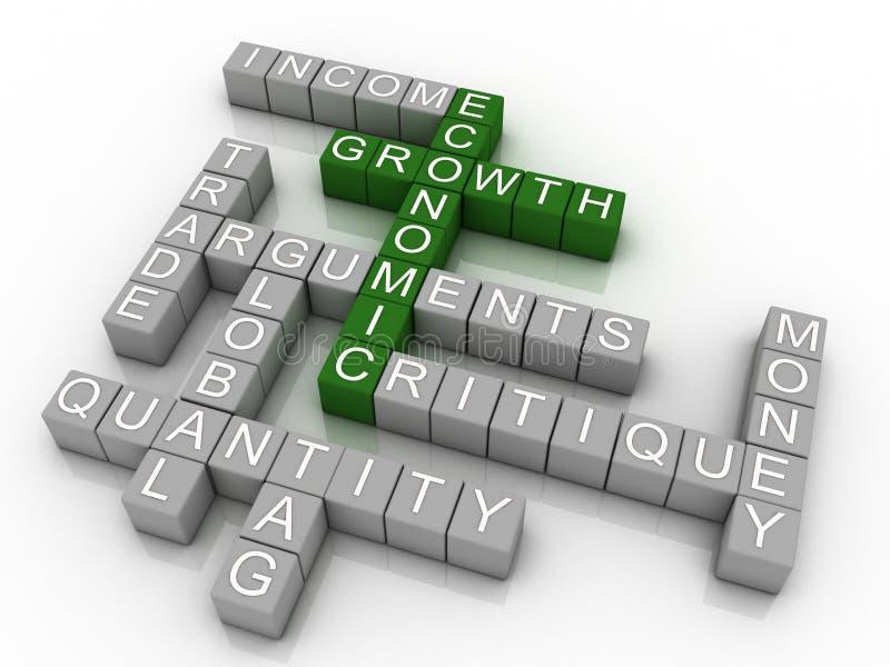 Wirtschaftswachstum stock abbildung