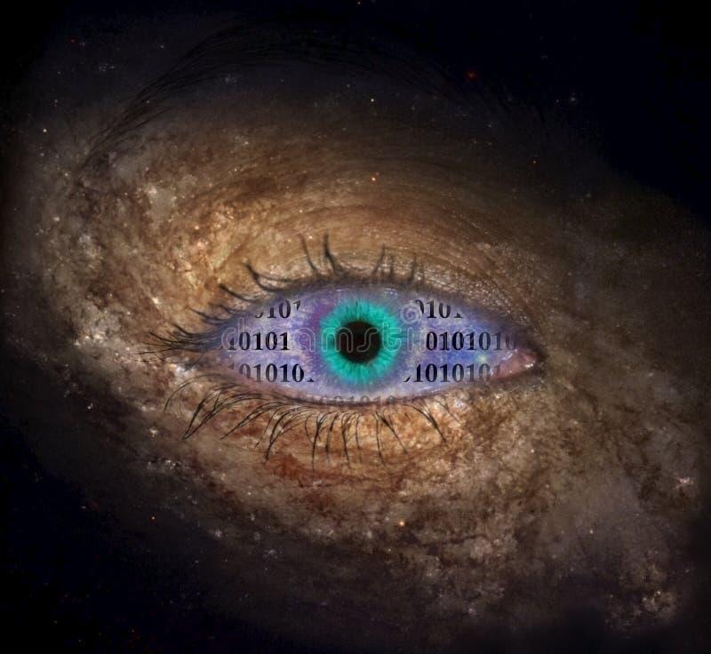 Wirtualny wszechświat ilustracji