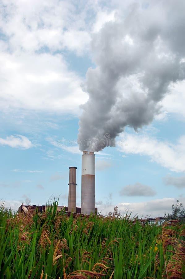 wirujące dymną na stertę obrazy stock
