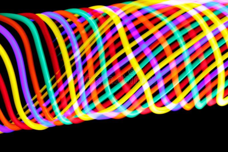 Wirujący kolory obraz stock