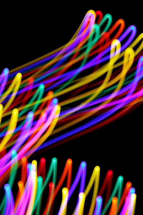 Wirujący kolory fotografia stock