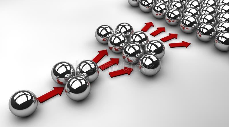 Wirusowy marketing ilustracja wektor