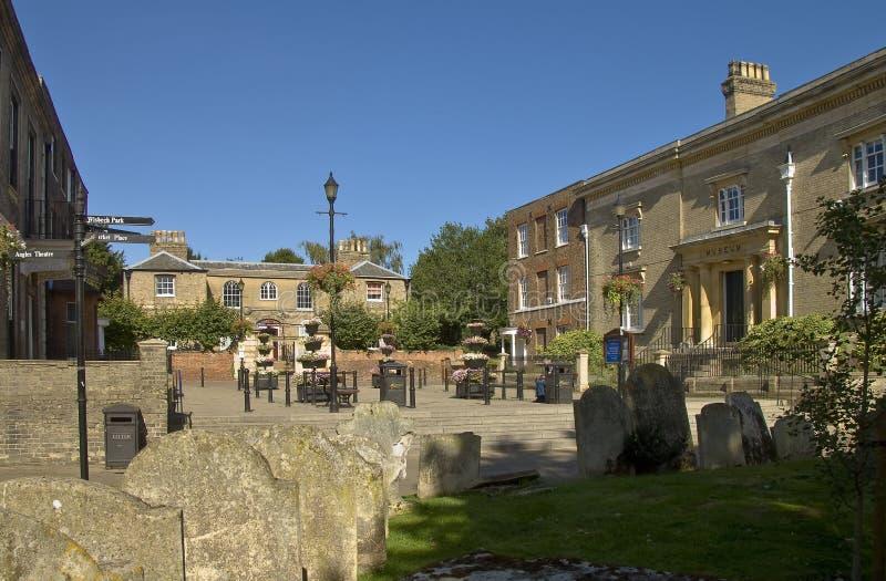 Wisbech, Cambridgeshire fotografía de archivo libre de regalías