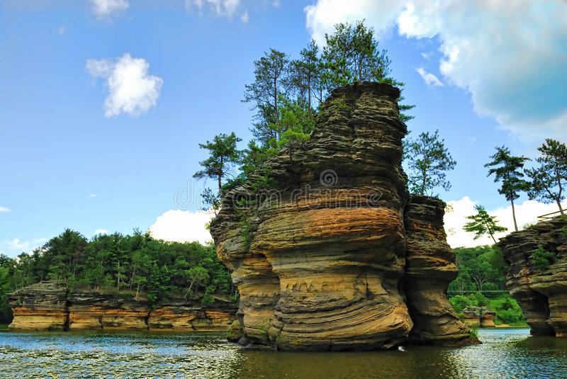 Wisconsin Dells royalty free stock photo