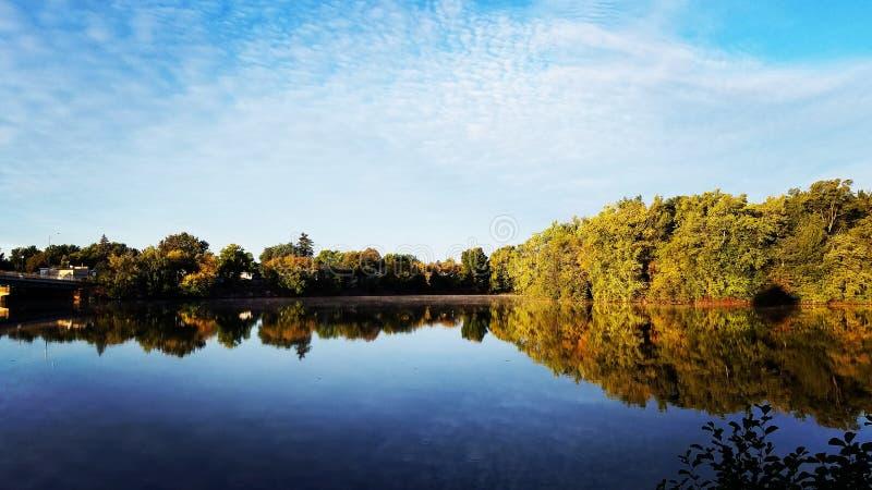 Wisconsin River arkivfoto