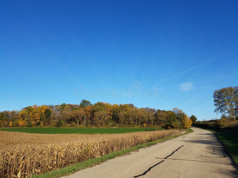 Wisconsin rural foto de stock