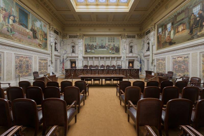 Wisconsin sąd najwyższy obrazy stock