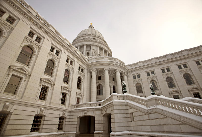 Wisconsin State Legislature Stock Photo