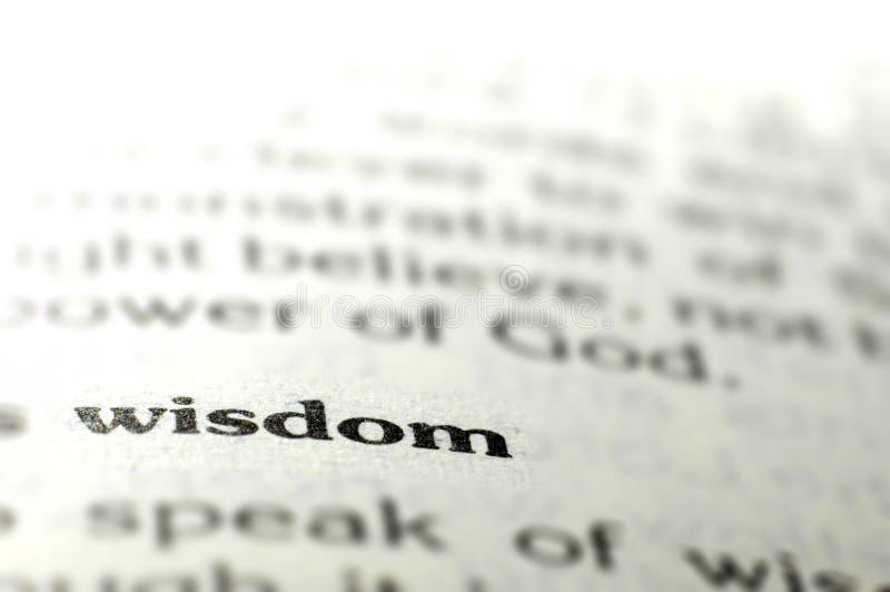 Wisdom stock photography