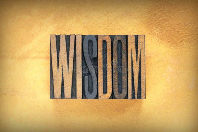Learn Letterpress Word On Wooden Background Stock Image