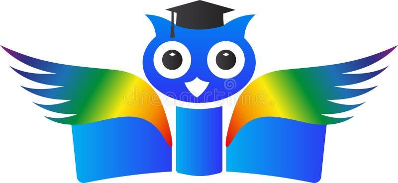 Wise owl stock illustration