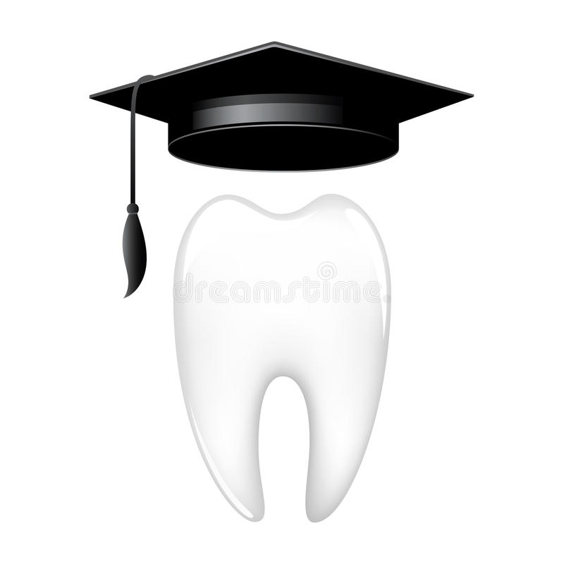 Wise tooth stock illustration