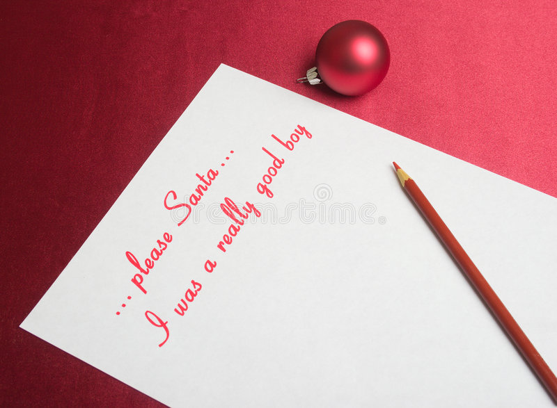 Download Wish list stock image. Image of correspondence, office - 3795071