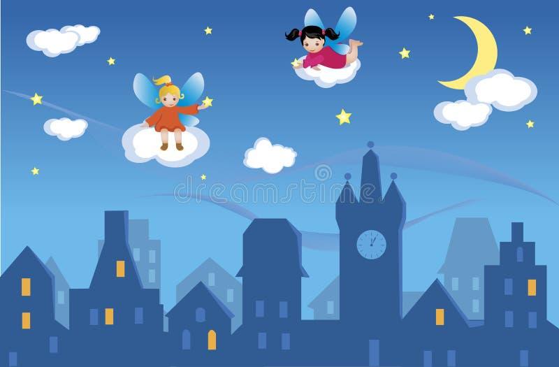 Wish Upon a Star vector illustration