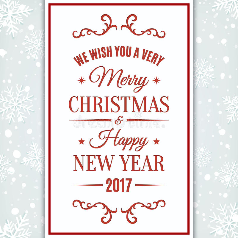 wish you a merry christmas and a happy new year flyer - Mersn ...