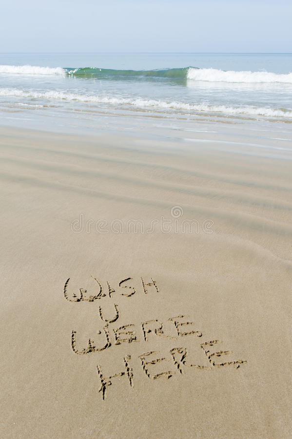 Download Wish you were here stock photo. Image of holiday, vacation - 30378052