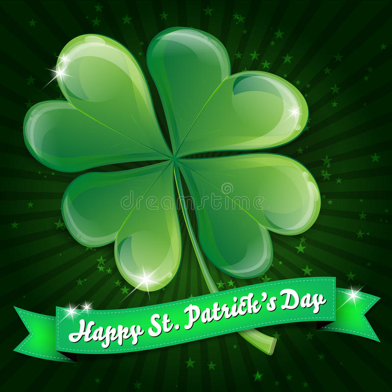 Download Wishes on St. Patricks Day stock vector. Image of saint - 27860469