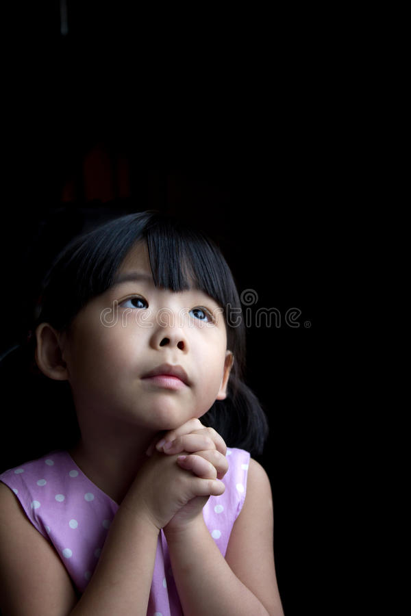 Download Wishing stock image. Image of expression, girl, asian - 26782065