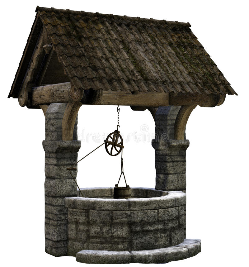 Wishing well vector illustration