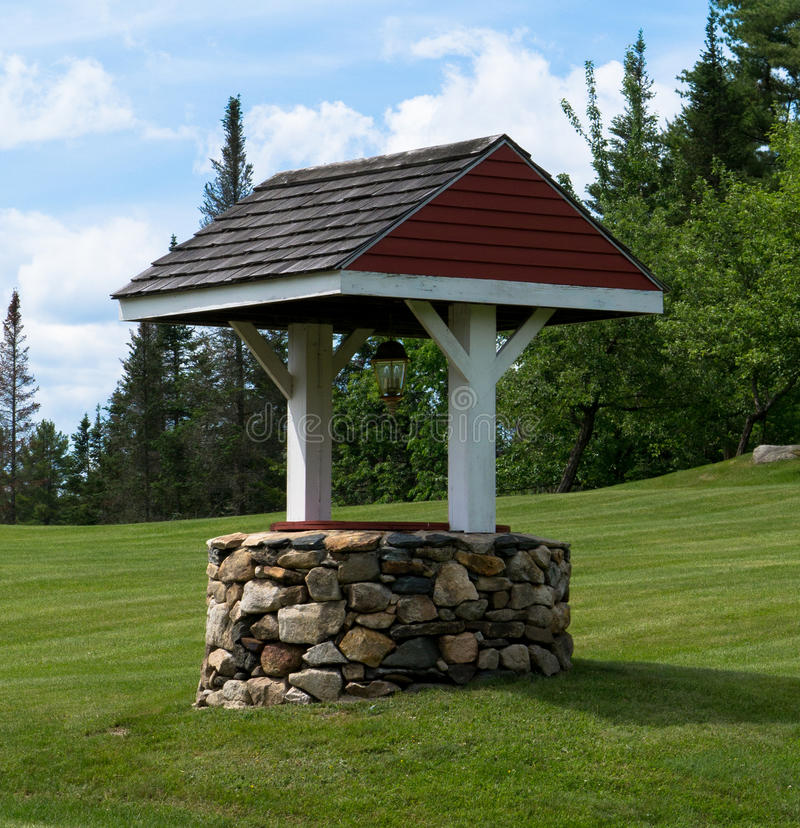 Download Wishing Well stock photo. Image of roof, detail, structure - 25204388