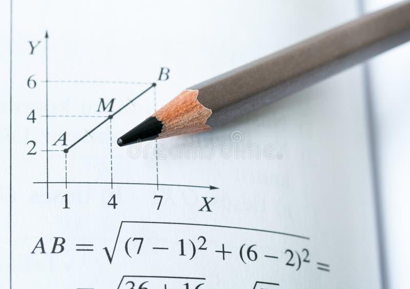 Wiskunde stock afbeelding