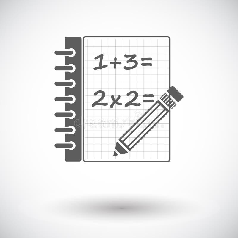 wiskunde stock illustratie