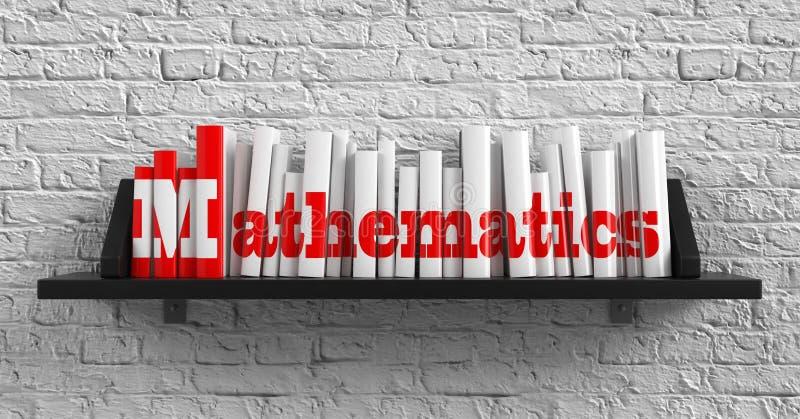 Wiskunde. Onderwijsconcept. stock illustratie