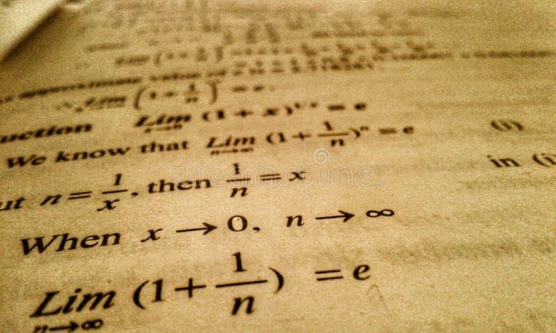 Wiskundeart. stock foto's