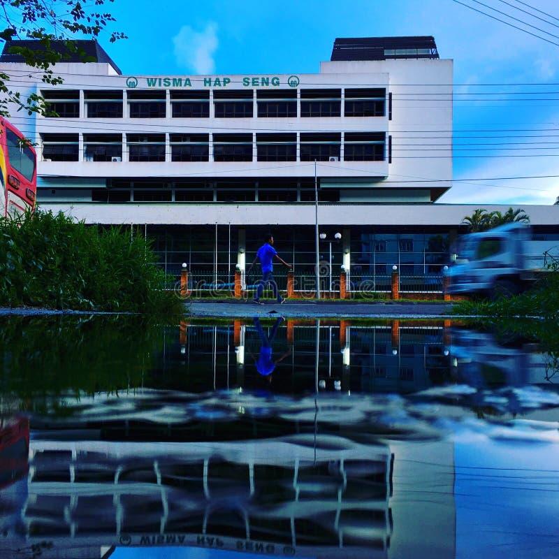 Wisma Hap Seng Waterview lizenzfreie stockfotografie