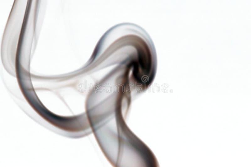 Wisp do fumo fotografia de stock
