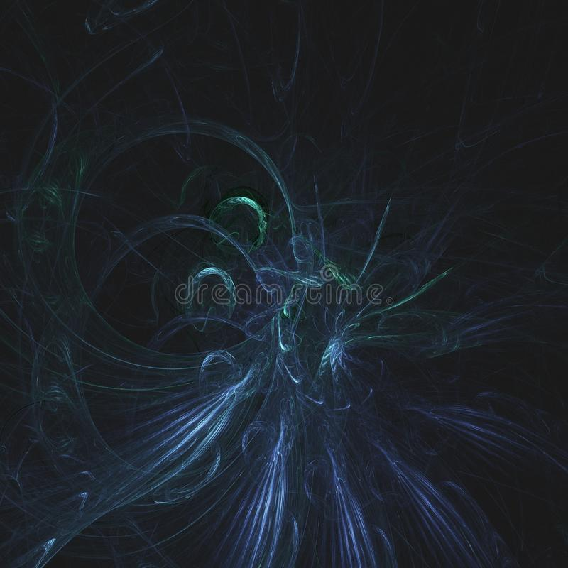 Wisps of the Emerald Princess of the Stone People | Fractal Art. Fractal Art & Starscapes by Douglas Fresh. Fractal art is beautiful because we ourselves are royalty free stock images