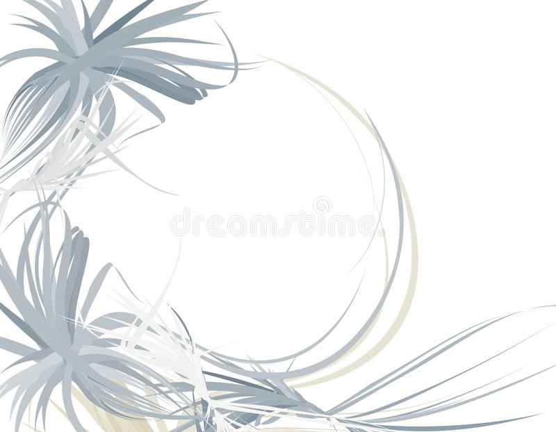 Download Wispy Feathery Blue Background Border Royalty Free Stock Photo - Image: 4337875