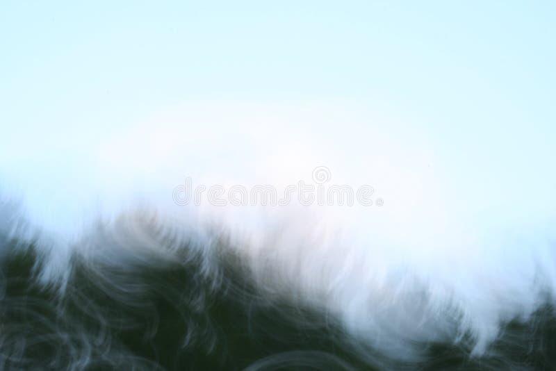 Wispy Hintergrund I Stockfoto
