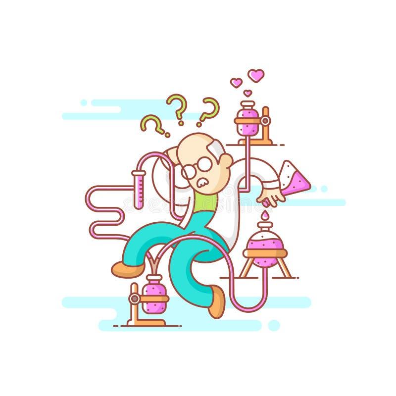 wissenschaftler stockfoto
