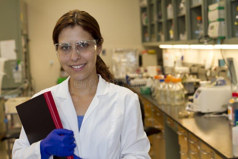 Wissenschaftler im Labor stockfotografie