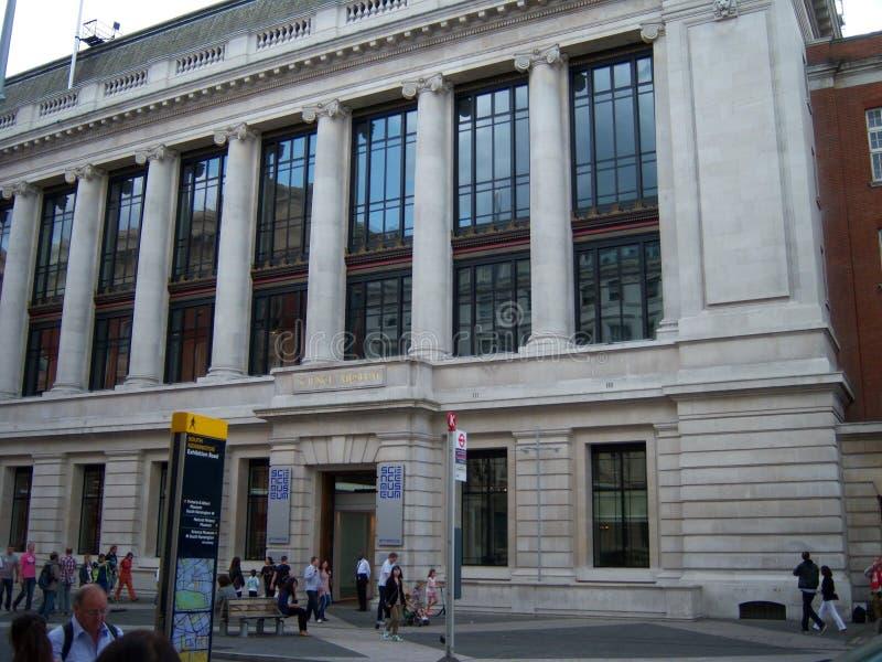 Wissenschafts-Museum in London lizenzfreie stockbilder