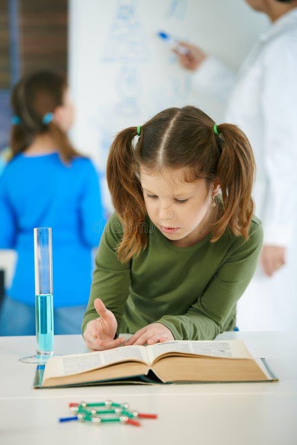 Wissenschaftskategorie an der Volksschule stockbild