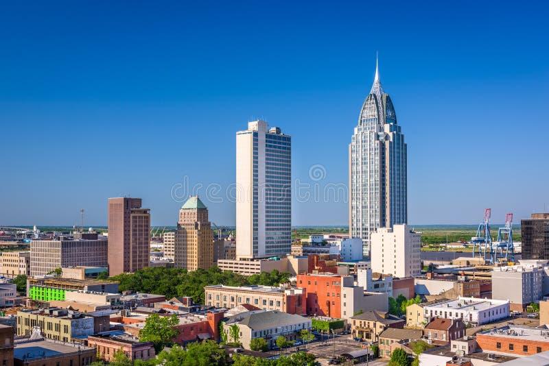 Wisząca ozdoba, Alabama linia horyzontu fotografia stock