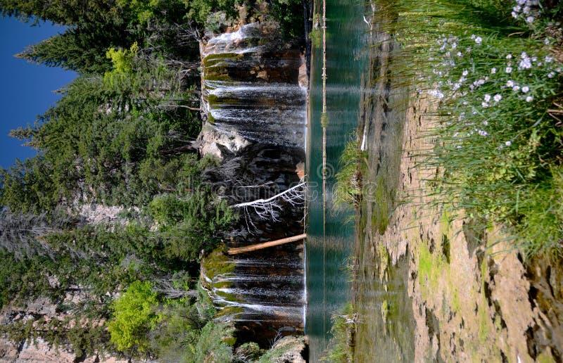 Wiszący jezioro - Kolorado obraz stock