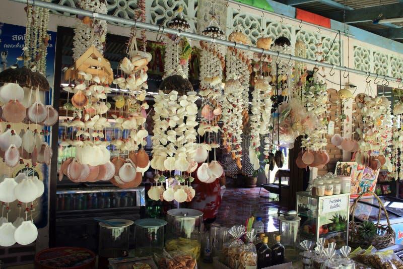 wiszący seashells zdjęcie royalty free