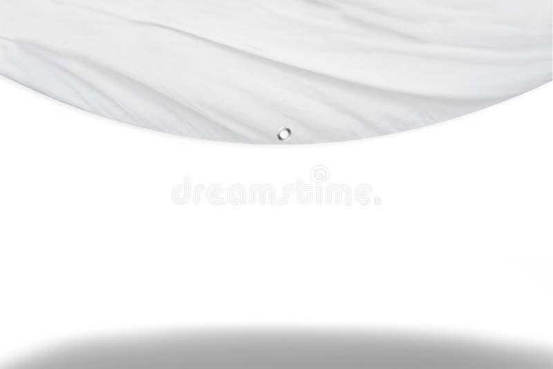 Wit blind gordijn stock illustratie