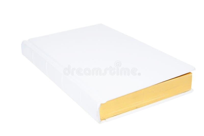 Wit boek stock fotografie