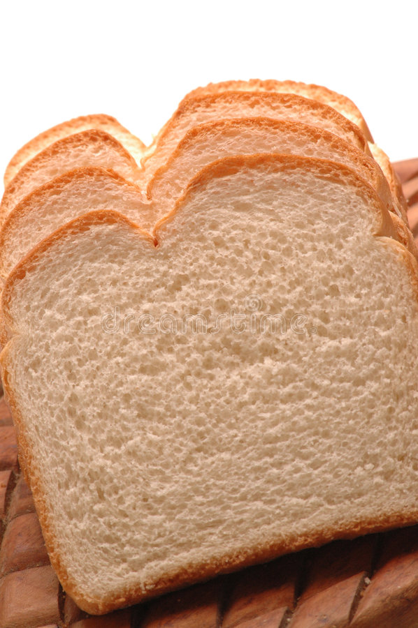 Download Wit brood stock foto. Afbeelding bestaande uit achtergrond - 275388