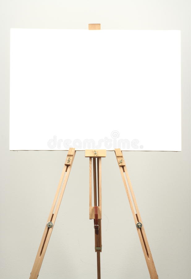 Wit canvas stock foto's