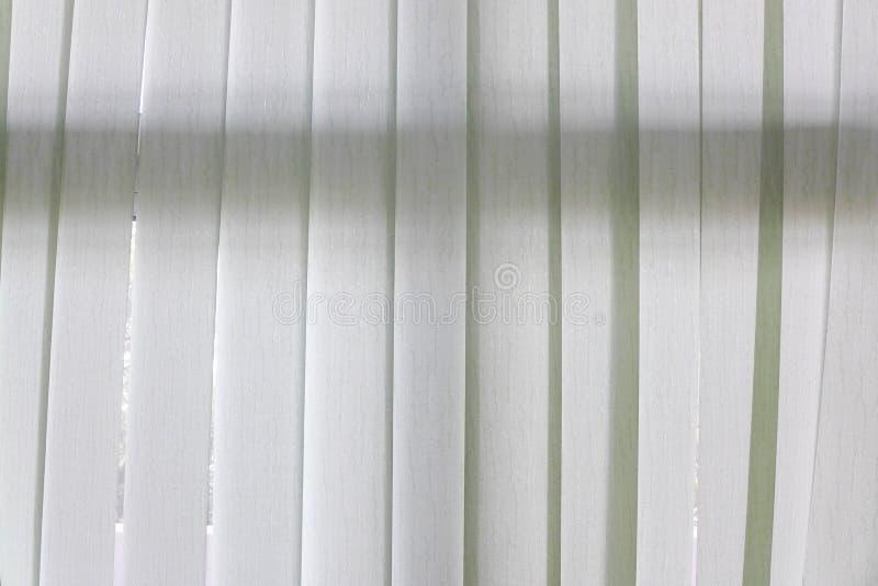 Wit doorzichtig gordijn stock foto's