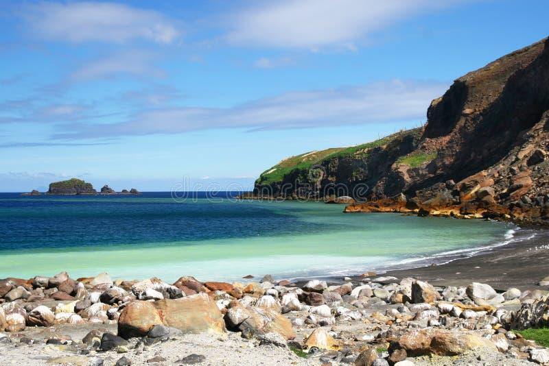 Wit eiland stock foto