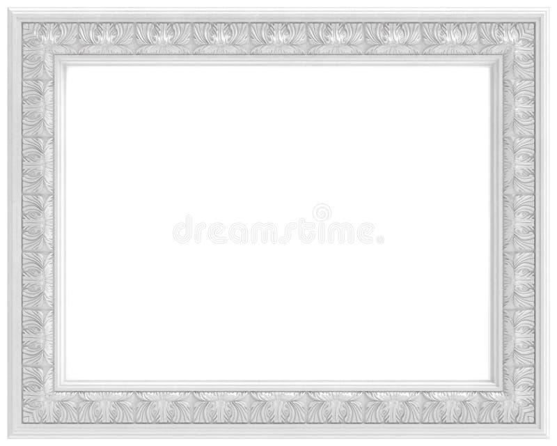Wit gesneden frame voor beeld dat op wit wordt geïsoleerdi