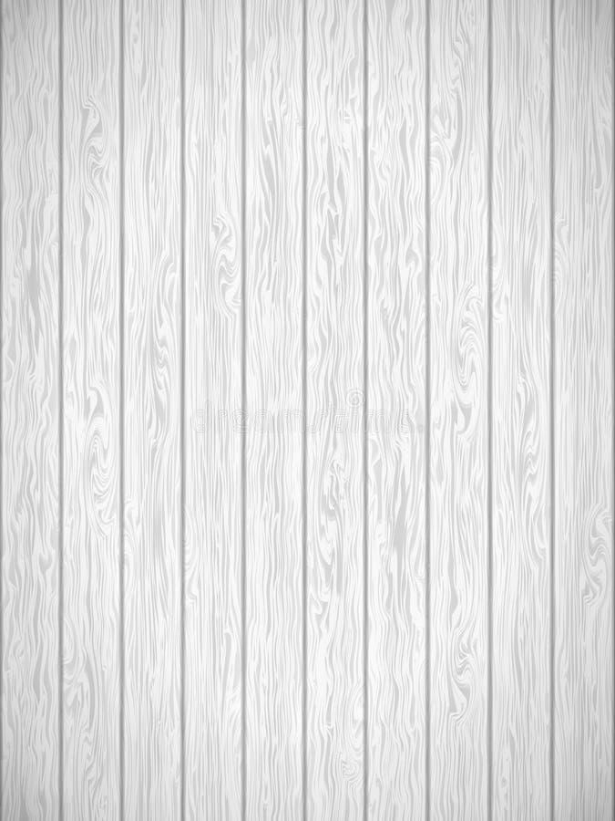Wit houten textuurmalplaatje EPS 10 vector royalty-vrije illustratie